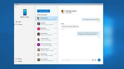 微软Windows10InsiderPreview现在可让您在PC上查看短信和照片