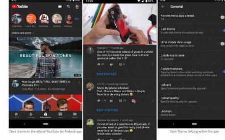 YouTube黑暗模式终于在更多安卓设备上亮相