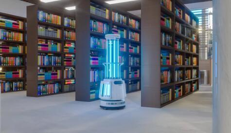 Ubtech的Adibot是一款巨型圆柱机器人