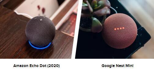 EchoDot与NestMini测试亚马逊和谷歌的智能扬声器