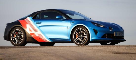 Alpine推出F1车队专用的Alonso和Ocon专用A110S