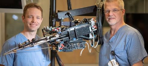 范德比尔特开发的手术机器人可以使根治性前列腺切除术更安全侵入性更小