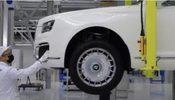 所有的2021 Aurus汽车均由客户分销